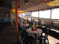 Restaurant on the pier- very basic food.
