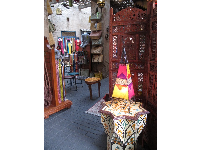 The shops in Morocco are gorgeous.