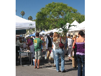 The Farmers Market is very popular!