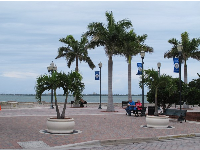 Waterfront area at downtown Fort Pierce.