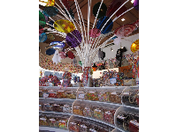Inside Dylan's Candy Bar.