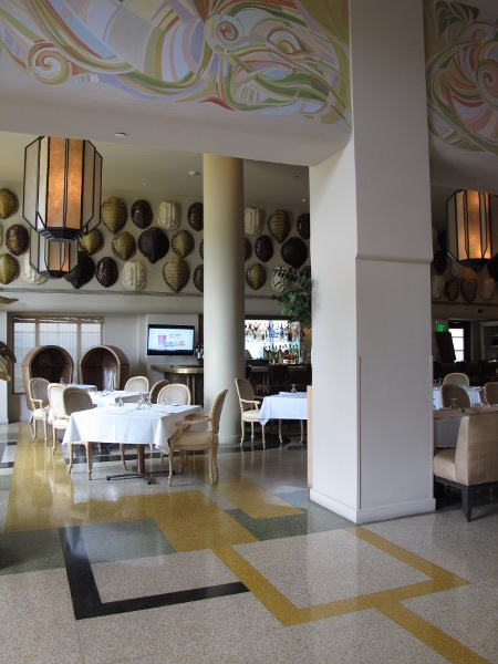 Interior of The Tides Hotel.