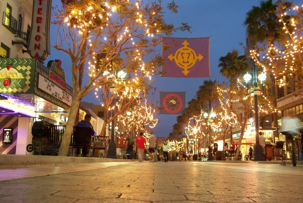 3rd Street Promenade, Santa Monica, Los Angeles California