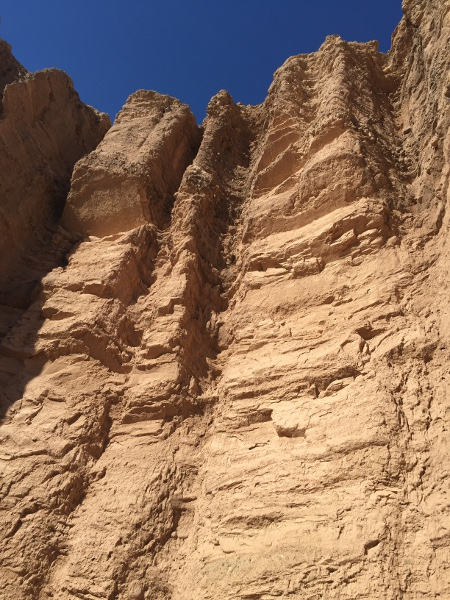 The high cliffs of Red Cathedral.