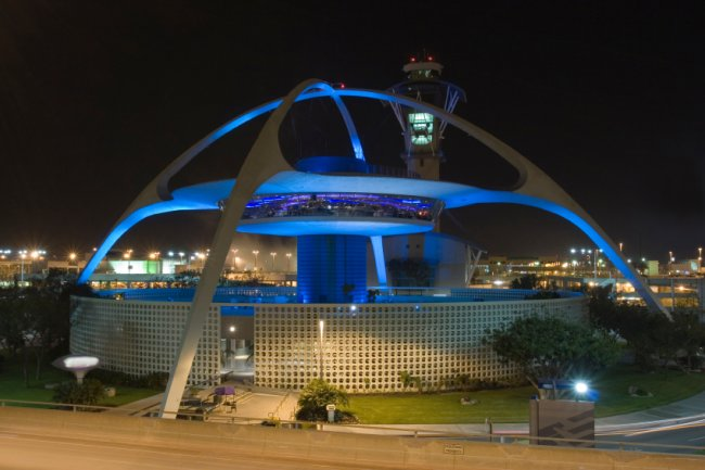 Theme Building, LAX, Los Angeles California