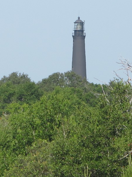View of Pensacola Lighthouse, from the fort.