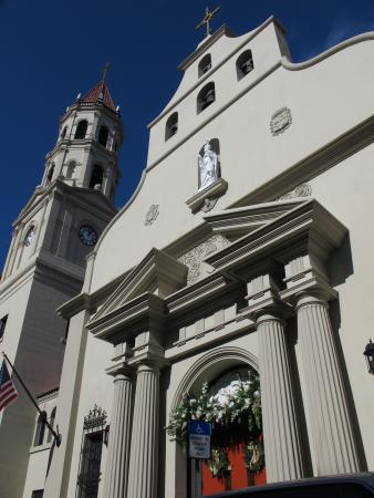 The Cathedral Basilica of St. Augustine.