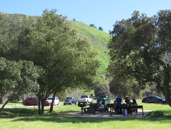 First Crossing Picnic Area, SY River, Santa Barbara California