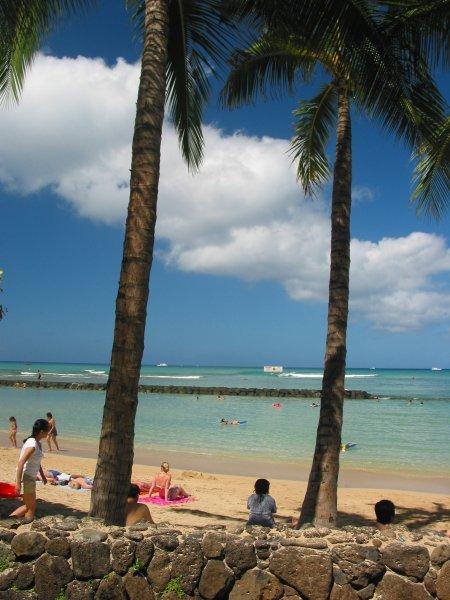 Waikiki Beach Ocean Swimming Pool Fun Maps