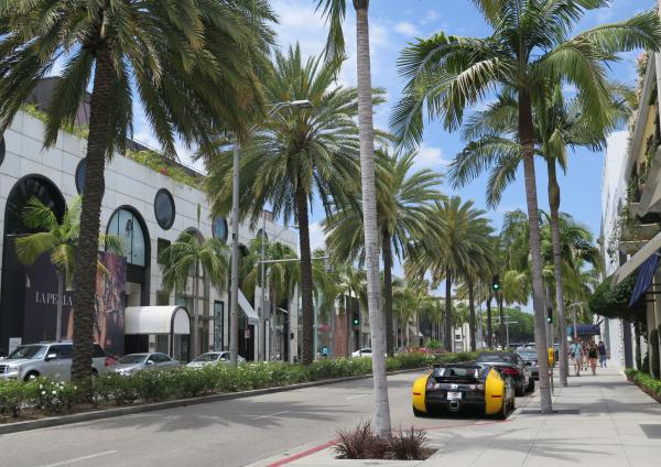 Rodeo Drive, Beverly Hills, Los Angeles California