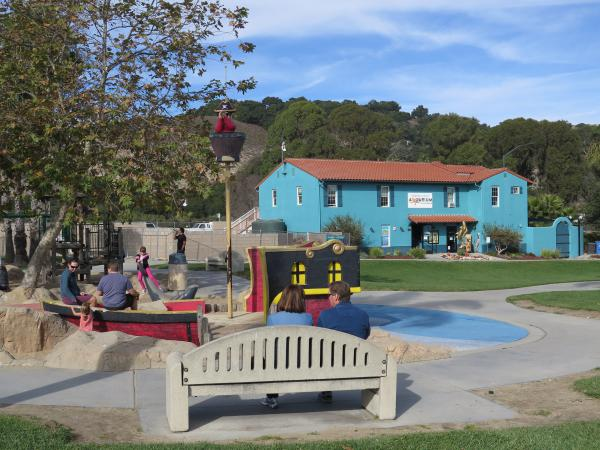 Avila Bch Playground and Central Coast Aquarium, San Luis Obispo California