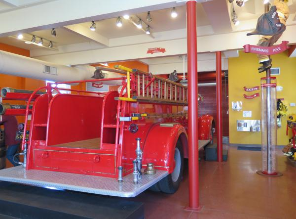Fire engine to explore!