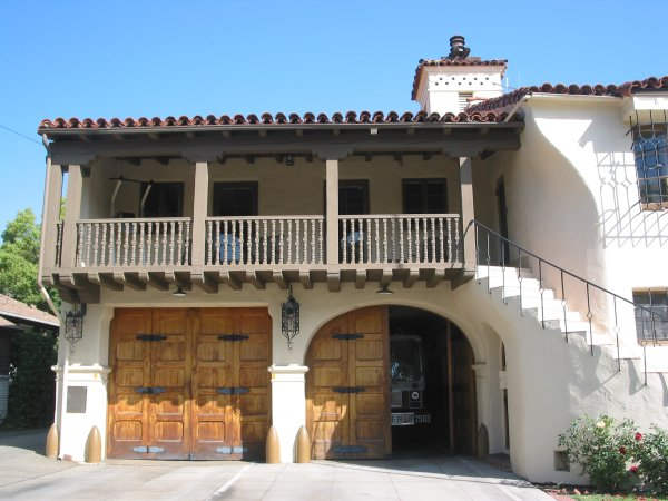 Go for a stroll on E. Sola Street, east of Kidsworld and see the attractive Spanish-style fire station with big wooden doors.