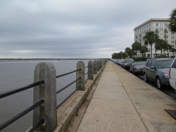 White Point Garden and Riverfront Path, Charleston, South Carolina NC