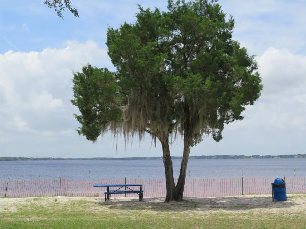 Waterfront Park and splash pad, Clermont, Orlando FL