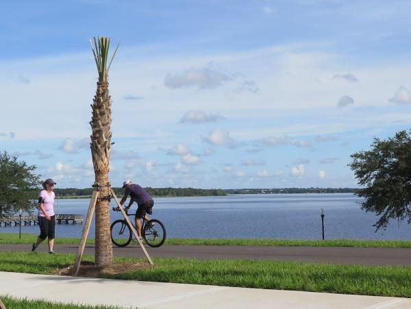 S. Lake Trail bike path, Clermont, Orlando FL