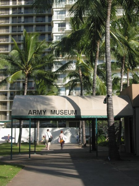 The Army Museum, a fascinating museum to visit.