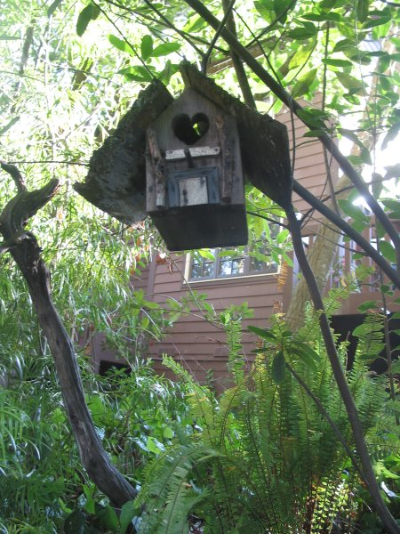 Birdhouse at Old Monterey Inn.