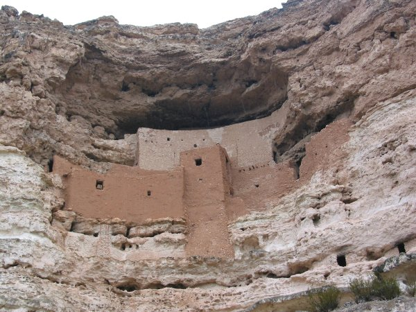 Montezuma's Castle and Montezuma Well, Arizona