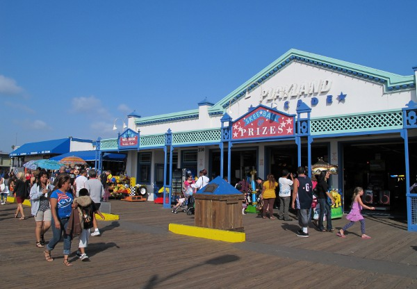 Playland Arcade, on the pier.