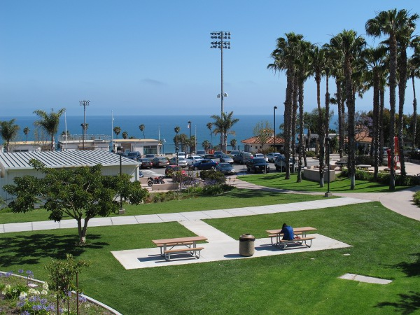 The buildings are ugly at SBCC but you can't beat the view!