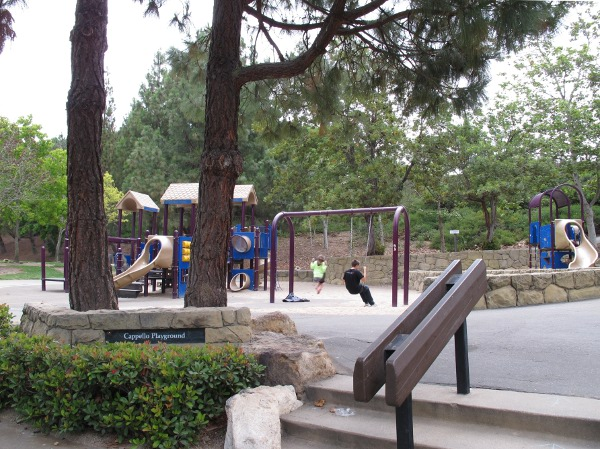 Cappello Playground, near the baseball fields.