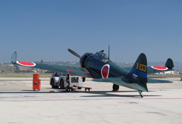 Japanese Zero fighter plane.
