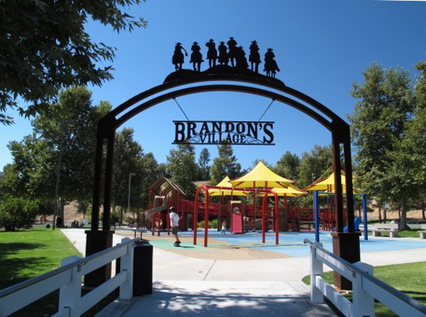 Brandon's Village Playground, Calabasas, Los Angeles California