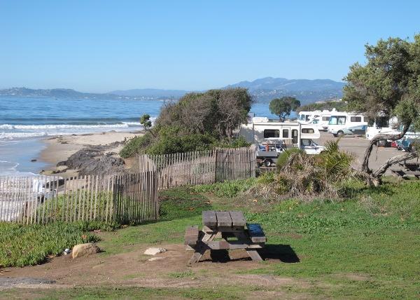 Camping At Carpinteria State Beach And The Tarpits