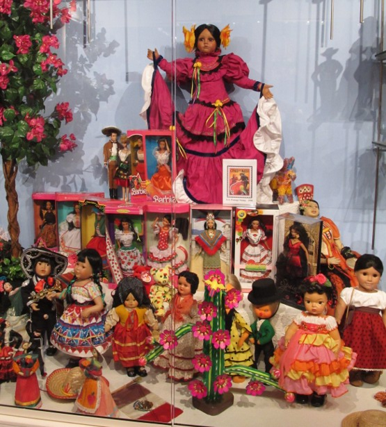 Spanish dancer dolls.