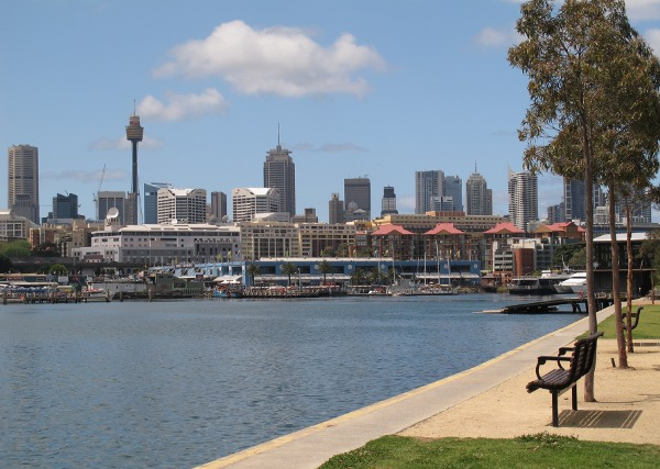 Blackwattle Bay Park, Glebe, Sydney NSW