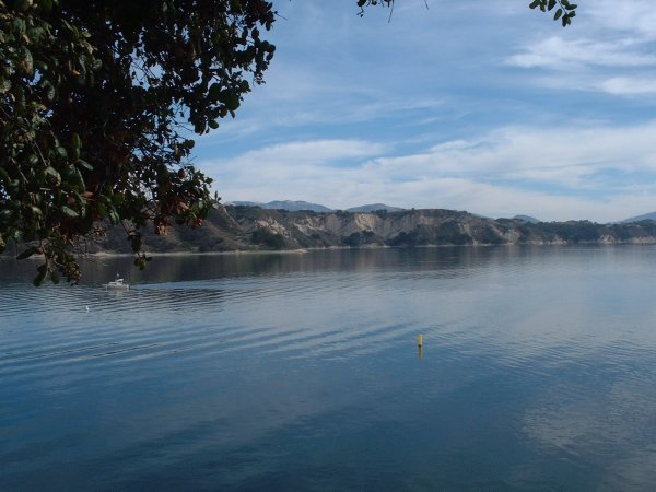 Lake Cachuma, Santa Barbara California