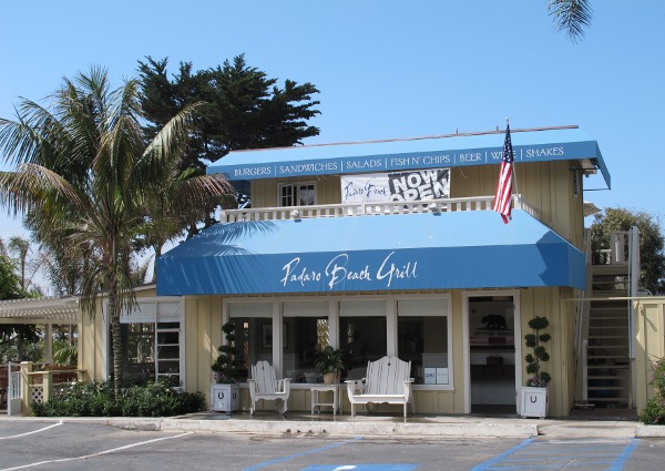 Front of Padaro Beach Grill.
