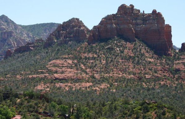 View on the way to Sedona.