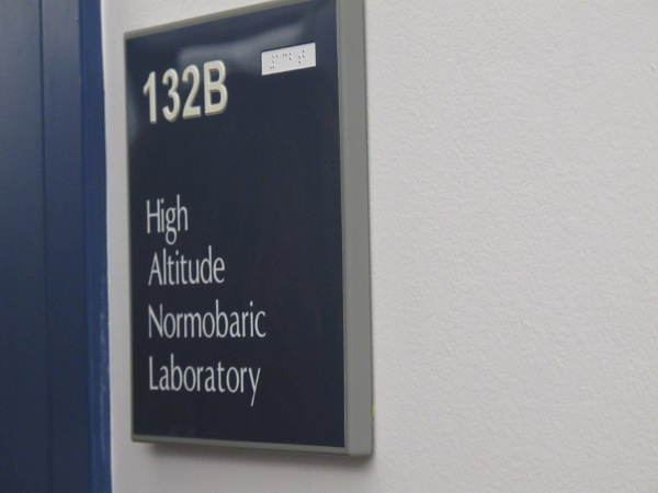 There is a High Altitude Normobaric Lab.